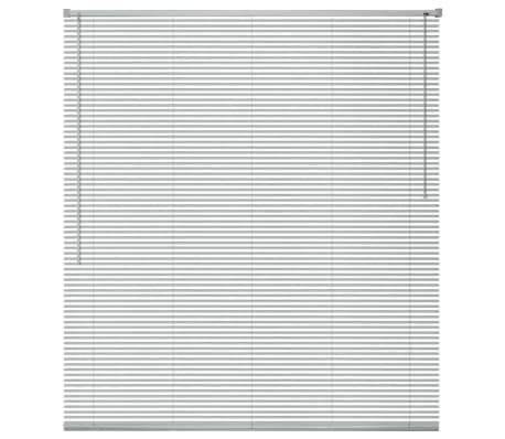 vidaXL Persienner Aluminium 100x160 cm Sølv