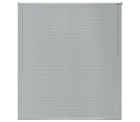 vidaXL Persienner Aluminium 100x160 cm Sølv[2/4]