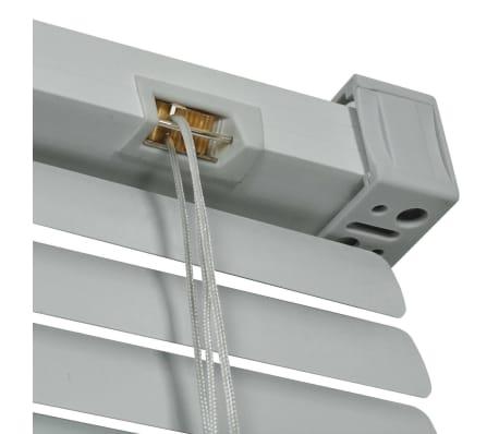 vidaXL Persienner Aluminium 100x160 cm Sølv[4/4]