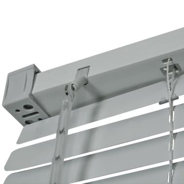 vidaXL Persienner Aluminium 100x160 cm Sølv[3/4]