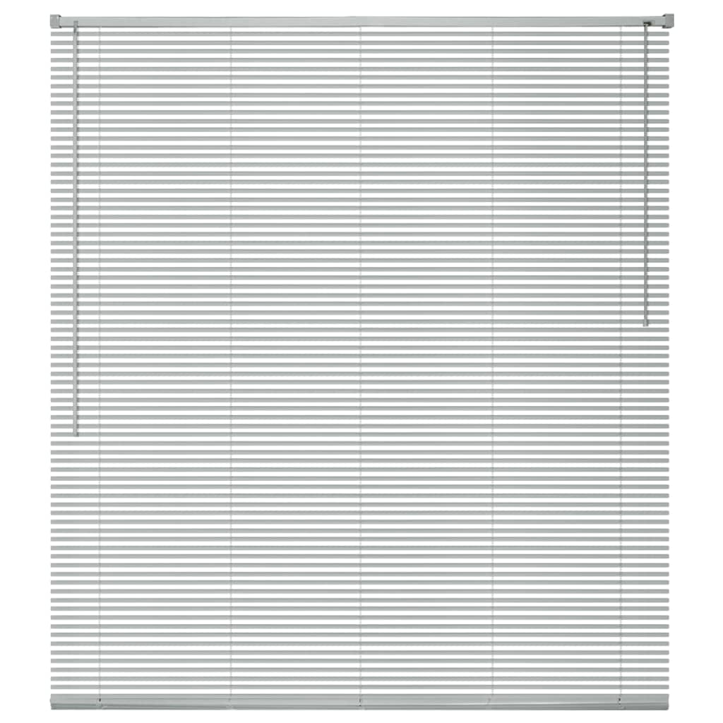 Okenní žaluzie hliník 60x220 cm stříbrná