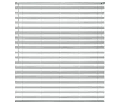 vidaXL Persienner Aluminium 140x220 cm Sølv