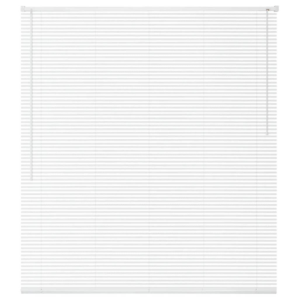 vidaXL Jaluzele pentru ferestre, PVC, 100 x 160 cm, alb vidaxl.ro