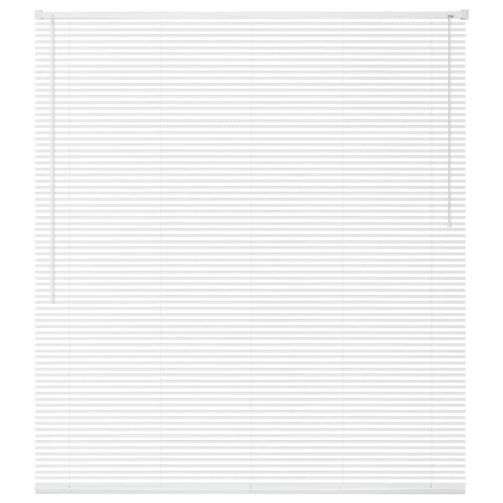 vidaXL Jaluzele fereastră, PVC, 60 x 220 cm, alb imagine vidaxl.ro