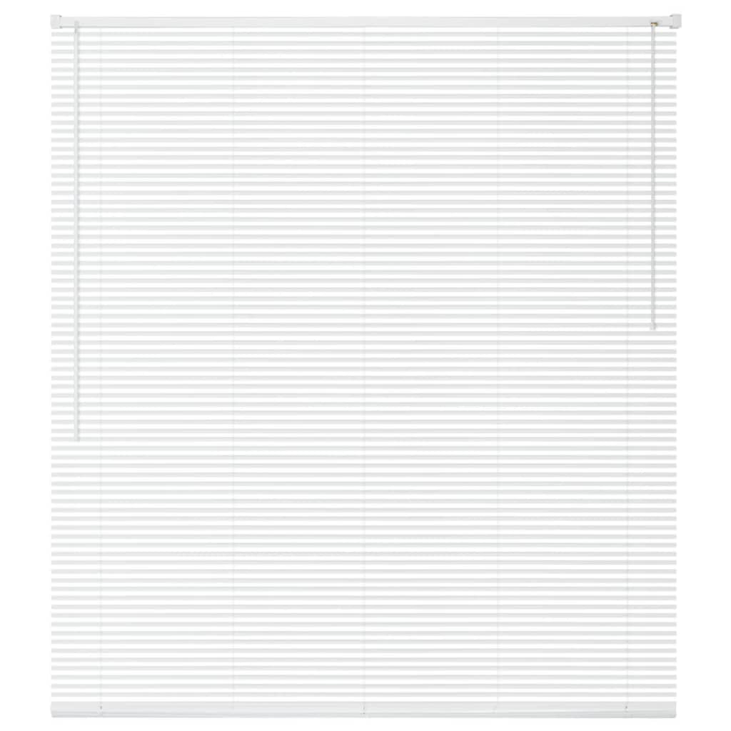 vidaXL Jaluzele din PVC, 80 x 220 cm, alb imagine vidaxl.ro
