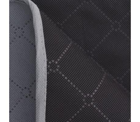 vidaXL Paklotas iškyloms, pilkas ir juodas, 100 x 150 cm[3/3]