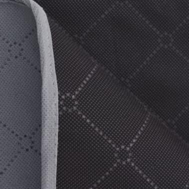 vidaXL Paklotas iškyloms, pilkas ir juodas, 150 x 200 cm[3/3]
