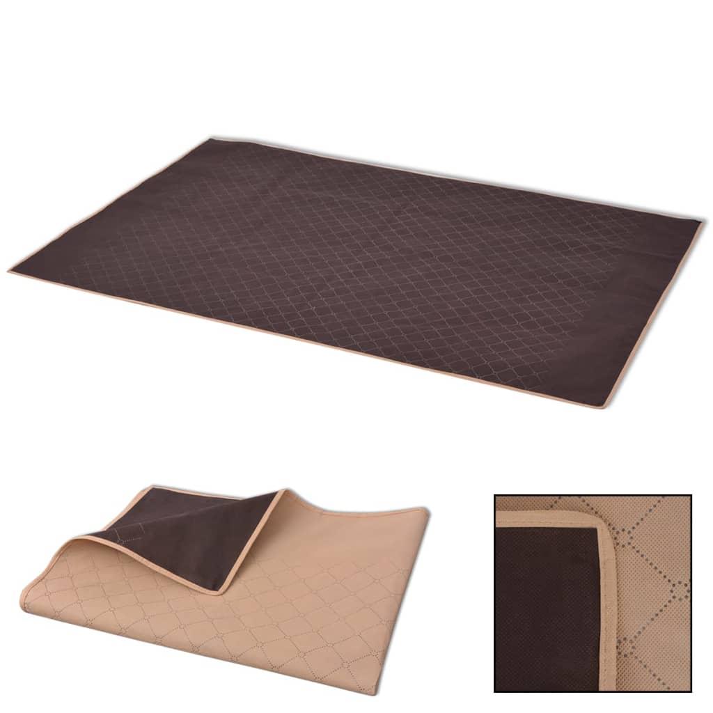 999131579 Picknickdecke Beige und Braun 150x200 cm