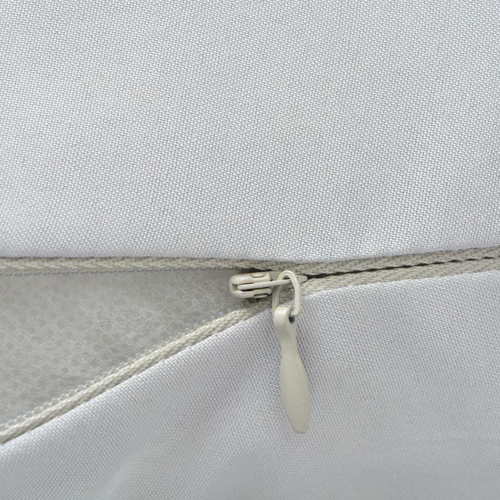 vidaXL Těhotenský polštář 40x170 cm šedý
