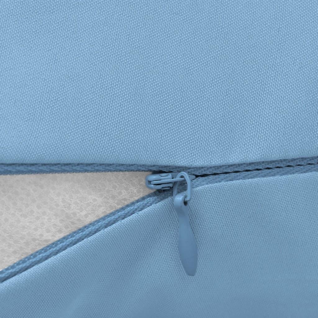 vidaXL Těhotenský polštář 40x170 cm světle modrý