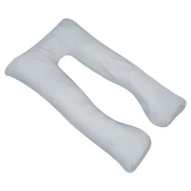 vidaXL graviditetspude 90 x 145 cm grå[2/4]