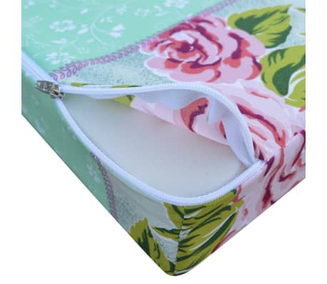 vidaXL Kinder Klappmatratze Blumenmuster[7/9]