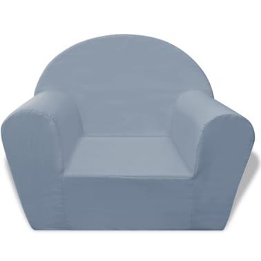 acheter vidaxl fauteuil pour enfants gris pas cher. Black Bedroom Furniture Sets. Home Design Ideas