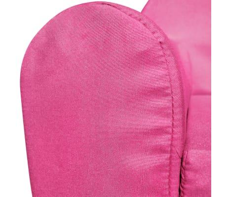 vidaXL Loungestoel voor kinderen uitklapbaar roze[5/6]