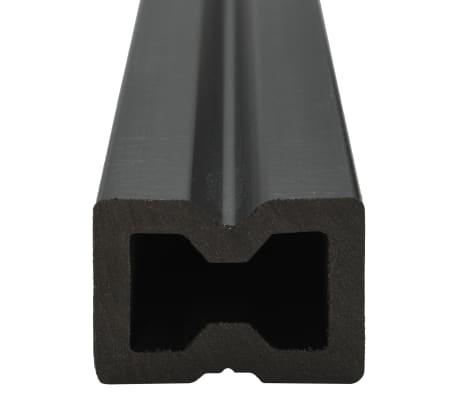 vidaXL WPC golvplattor med tillbehör 10 m² 2,2 m grå[6/9]