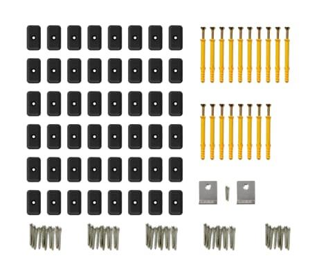 vidaXL WPC golvplattor med tillbehör 36 m² 2,2 m grå[8/9]