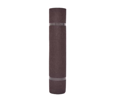 "vidaXL Exhibition Carpet Rib 78.7""x590.6"" Brown[2/3]"