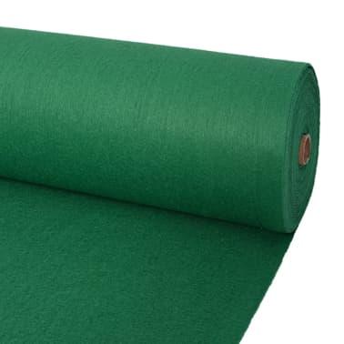 vidaXL Tapis pour exposition 1 x 12 m vert[1/3]