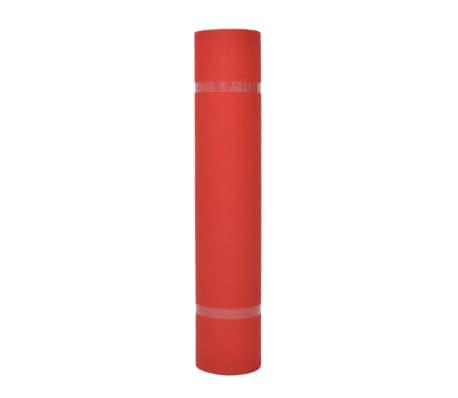 vidaXL Mässmatta slät 1x12 m röd[2/3]