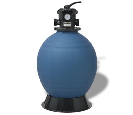vidaXL Pool Sand Filter 22 inch Round Blue[2/5]