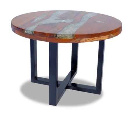 "vidaXL Coffee Table Teak Resin 23.6""[5/10]"