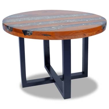 "vidaXL Coffee Table Teak Resin 23.6""[6/10]"