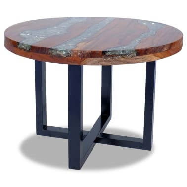 "vidaXL Coffee Table Teak Resin 23.6""[7/10]"