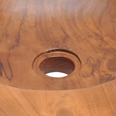 vidaXL Umývadlo z masívneho teakového dreva, 45 cm[9/10]