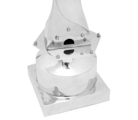 vidaXL Propellerblad-standaard aluminium zilver 150 cm[4/5]