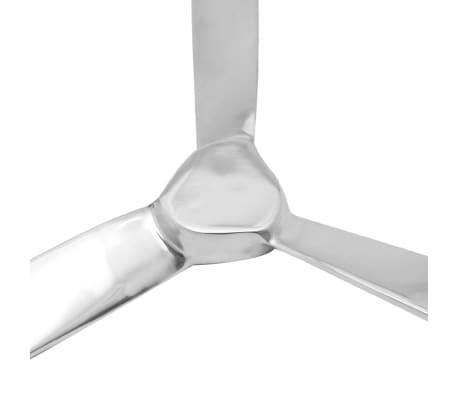 "vidaXL Wall-Mounted Propeller Aluminum Silver 27.6""[4/5]"