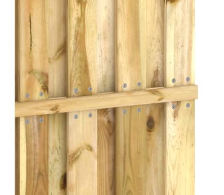 vidaXL Panou pentru gard din lemn de pin impregnat 180 x 180 cm[4/4]