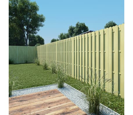 vidaXL Panneau de clôture 180 x 180 cm Bois imprégné FSC[1/4]