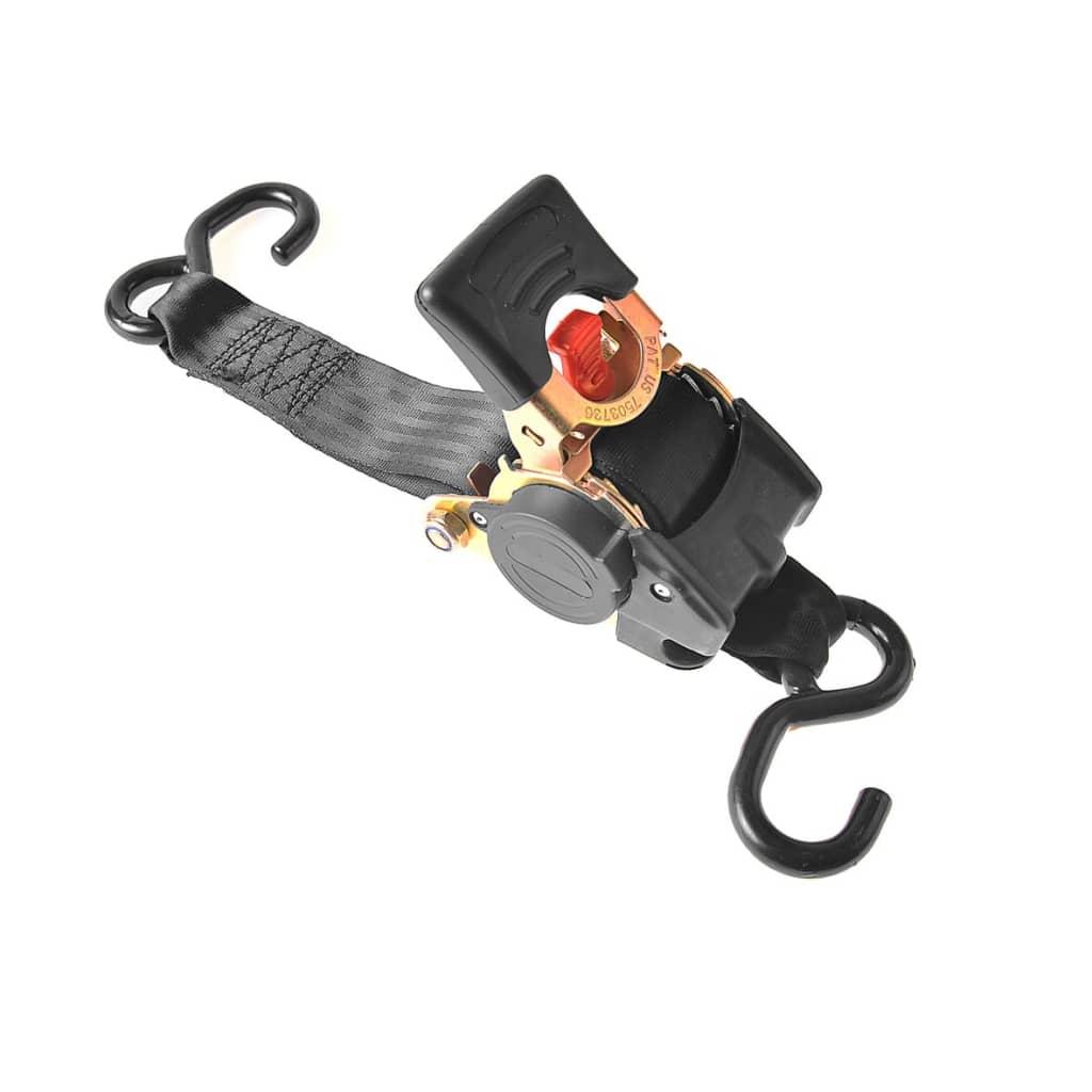 Afbeelding van ProPlus spanband met ratel, 180cm, 750kg, automatisch oprolbaar
