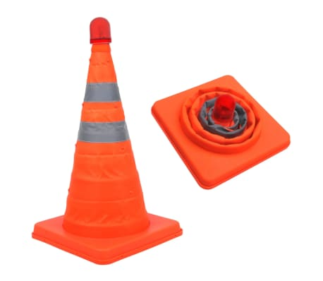 Warnkegel Leitkegel Pylone Verkehrsleitkegel Sicherheit Hütchen Hut Kegel 45cm