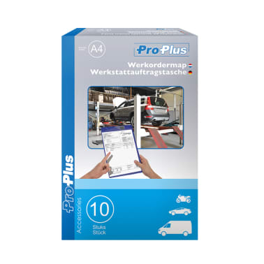 ProPlus 580042 Set 10 Busta porta documenti A4 viola per officine[4/5]