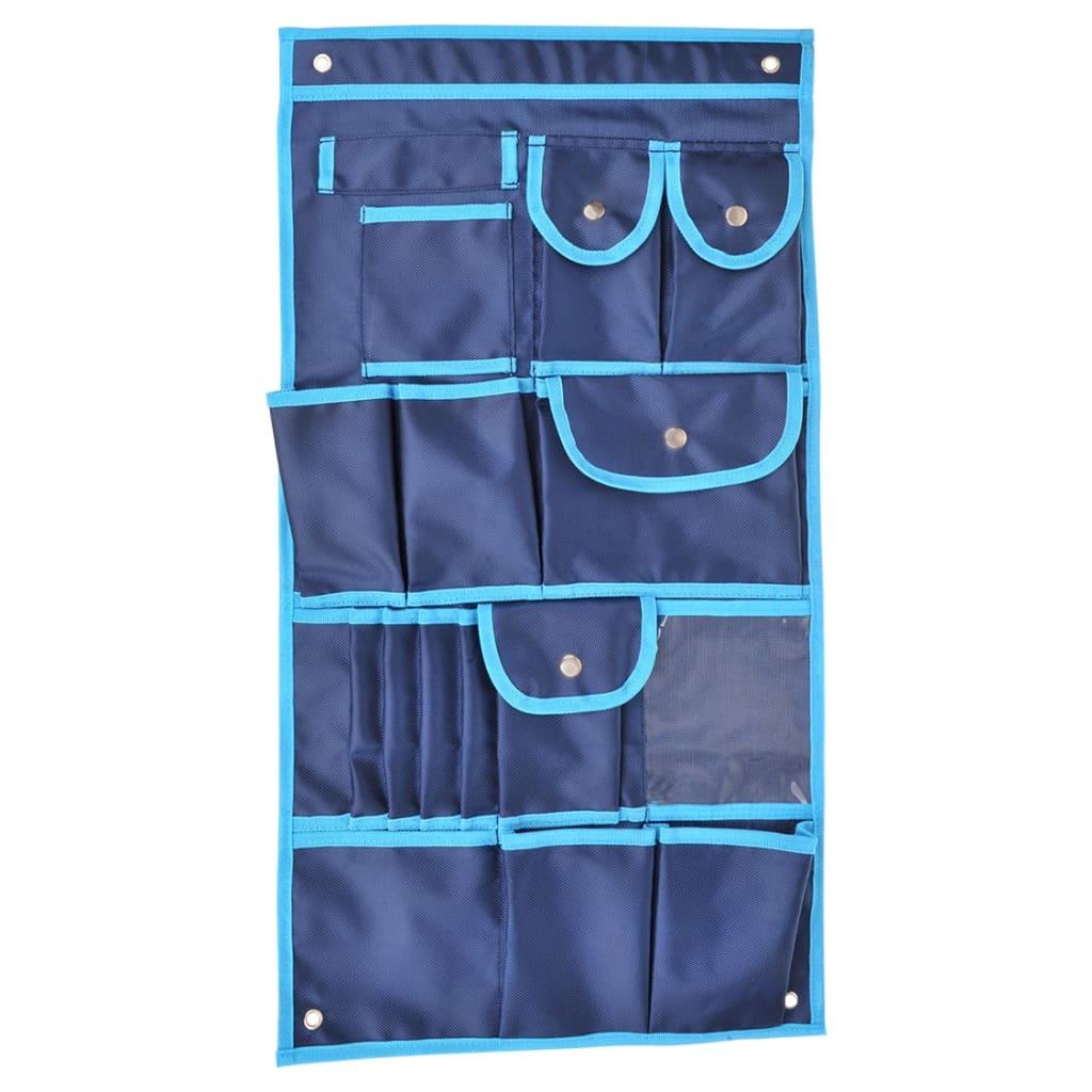 ProPlus organizer 17-vaks 74 x 39 cm blauw