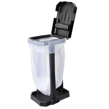 ProPlus Soporte de bolsa de basura para camping negro[1/6]
