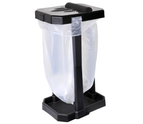 ProPlus Soporte de bolsa de basura para camping negro[2/6]