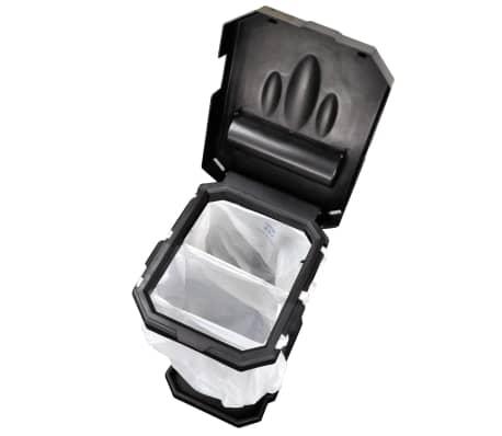 ProPlus Soporte de bolsa de basura para camping negro[3/6]