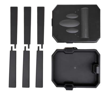 ProPlus Soporte de bolsa de basura para camping negro[4/6]