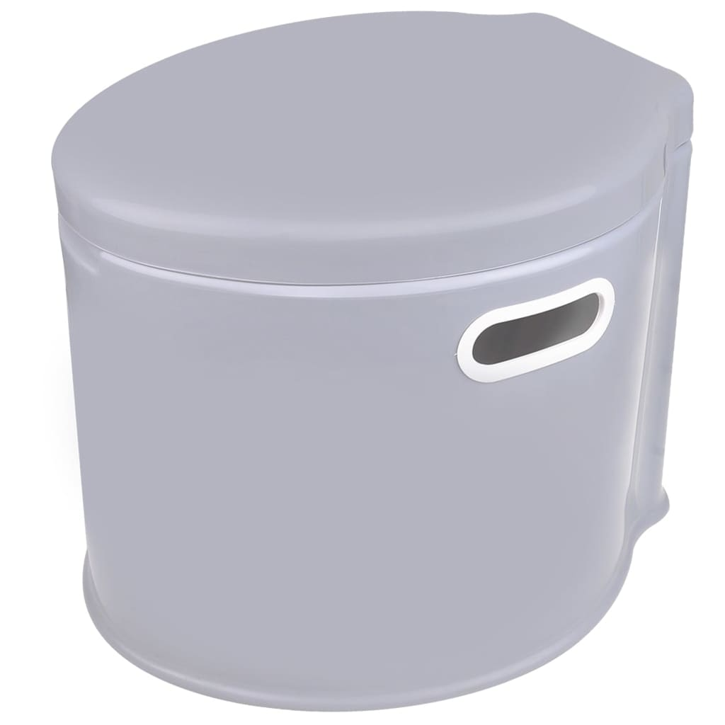ProPlus Toaletă portabilă, 7L, gri poza vidaxl.ro