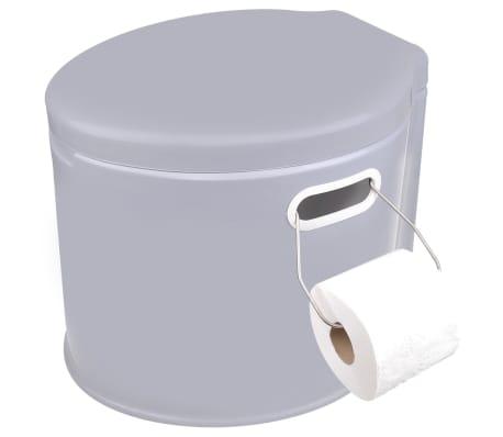 ProPlus Nešiojamas tualetas, pilkos spalvos, 7l[5/5]