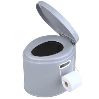Kanon Handla ProPlus Portabel toalett 7L grå | vidaXL.se HQ-78