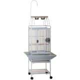 Strong Cage pour perroquets Villa Helios Blanc 46x46x149 cm 93082