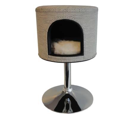 acheter pet canap pour chat jane 39x39x59 cm beige 10023 pas cher. Black Bedroom Furniture Sets. Home Design Ideas