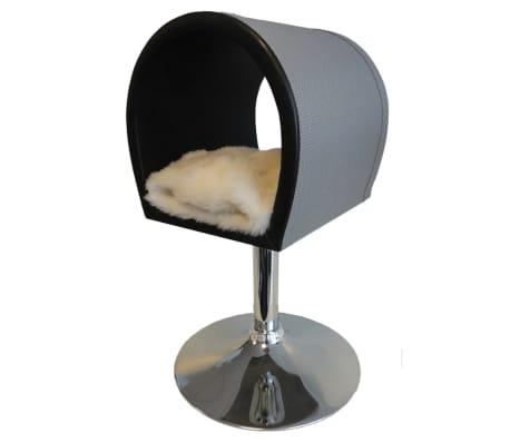 acheter pet canap pour chat lola 36x34x71 cm noir 10025 pas cher. Black Bedroom Furniture Sets. Home Design Ideas