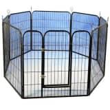 @Pet Parc modulaire pour chiots Noir 79x81 cm