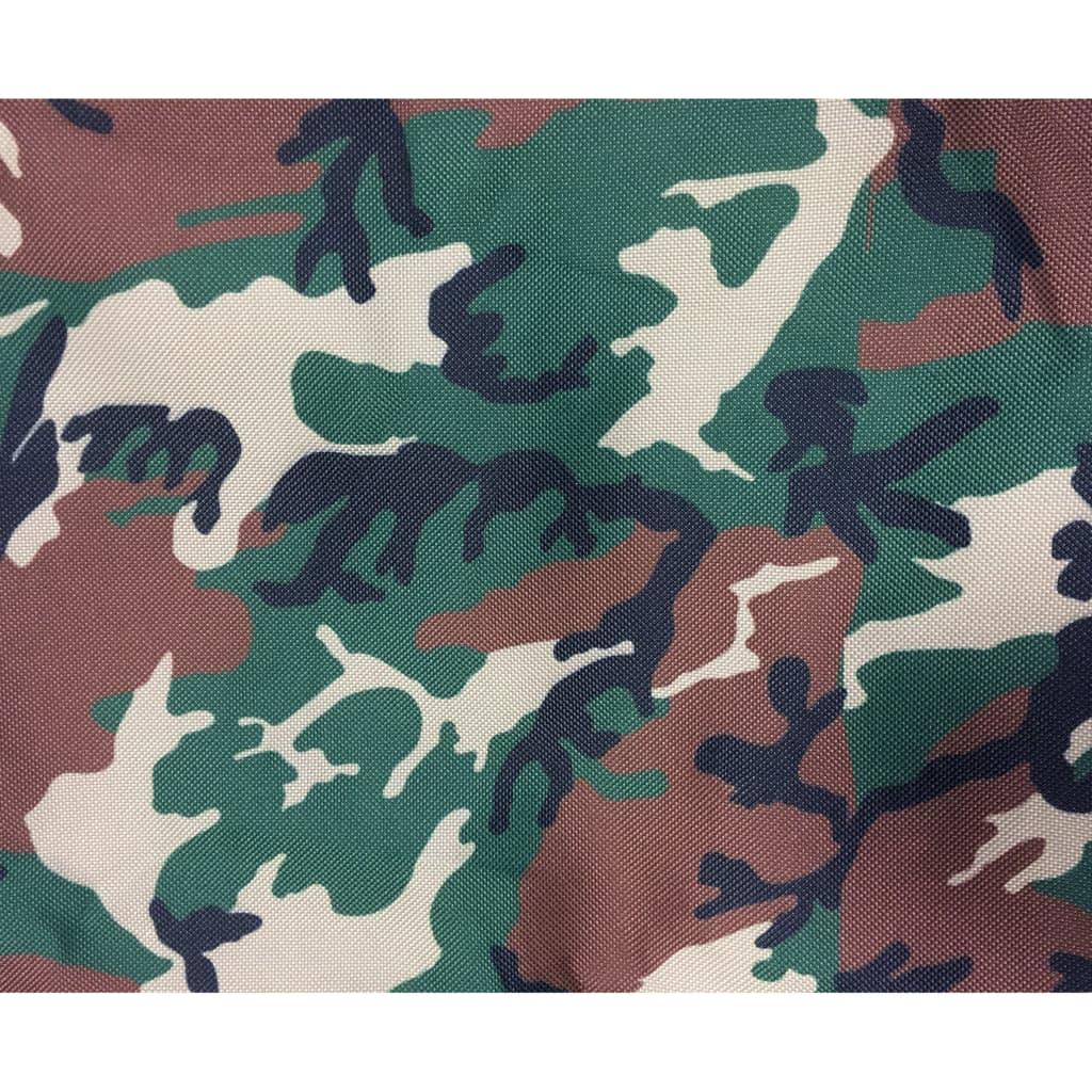@Pet Hondenligbed camouflageprint groen