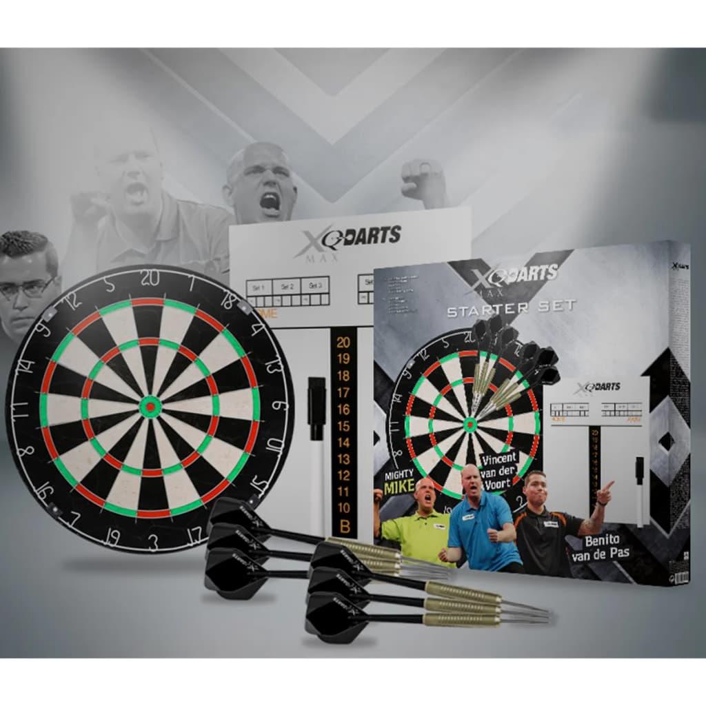 99407671 XQmax Darts Dartscheibe StarterSet Borste QD7000040