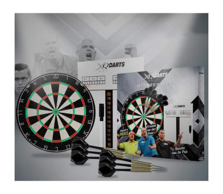 xqmax darts dartscheibe starterset borste qd7000040 g nstig kaufen. Black Bedroom Furniture Sets. Home Design Ideas